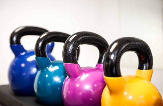 kettlebells at moorgate fitness studio