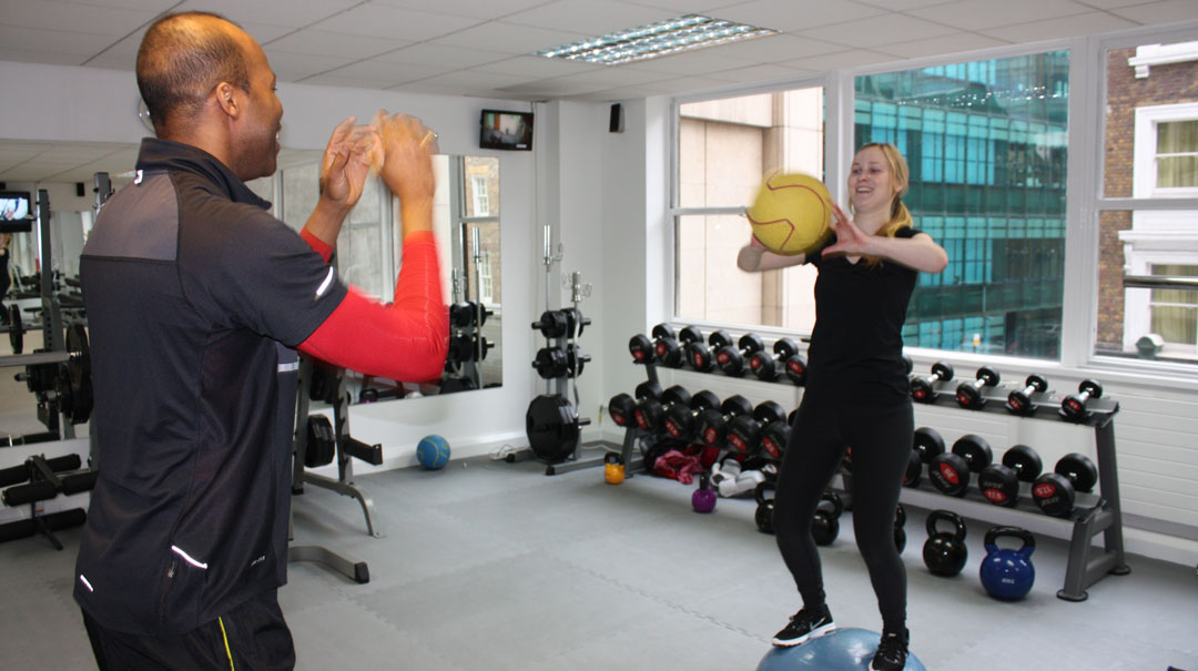 personal training in london city