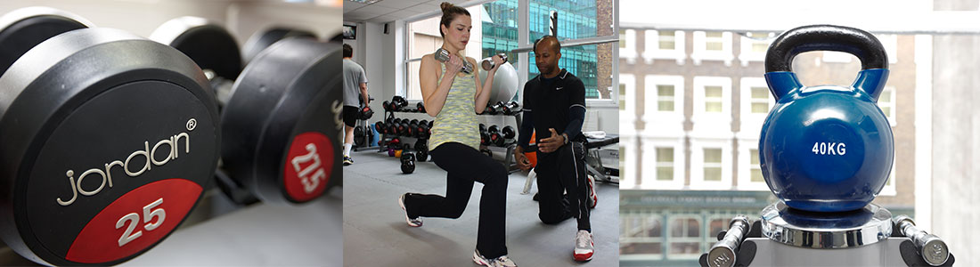 personal fitness training programmes at moorgate studio