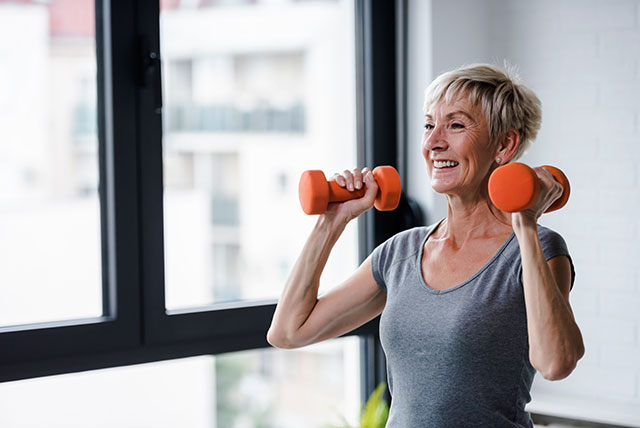Home Visit Personal Training with Weights