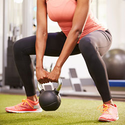Kettle Bell Squat - Personal Training